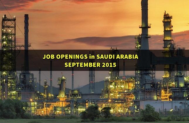 saudi arabia jobs 2015