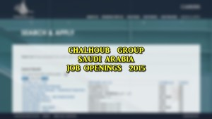 chalhoub group jobs saudi arabia
