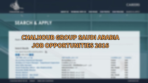 chalhoub group jobs-saudi arabia