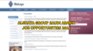 alshaya group jobs SAUDI ARABIA