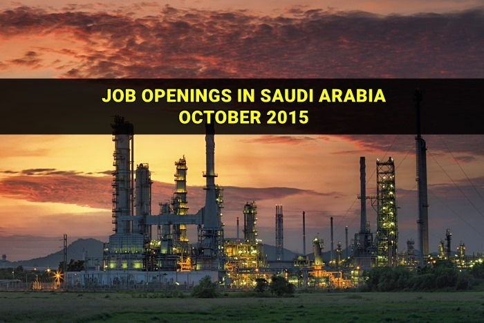 saudi arabia jobs october 2015