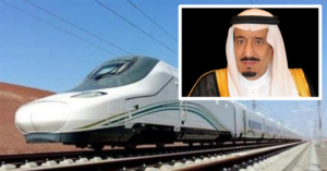 king salman inaugurates haramain rail