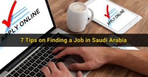 Tips on Finding a Job in Saudi Arabia 3
