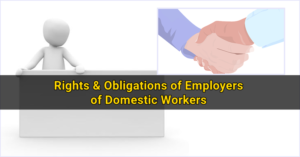 Rights & Obligations of Employers of Domestic Workers