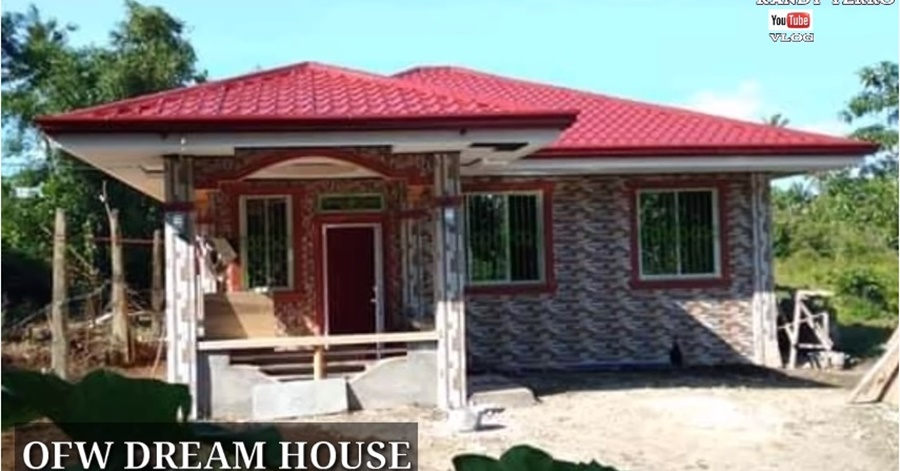 Saudi OFW Builds Dream House Worth Php 1.8M in his Hometown in 2 Years